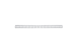 GBC (A4) 8mm Binding Wire Elements 34 Loop 70 Sheet Capacity (Silver) Pack of 100