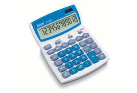 Ibico 212X Desktop Calculator Solar and Battery 12-Digit