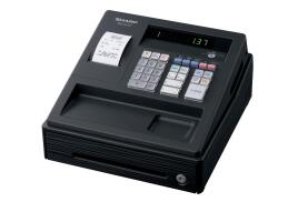 Sharp Cash Register 30 Standard Keys LED Display 3 AA Batteries (Black) - Single