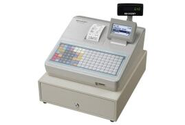 Sharp XEA217W Cash Register Multi-Line Alphanumeric LCD Display 20 Digits 5 or 8 Lines