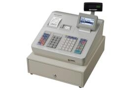 Sharp XE-A307 Cash Register Built-in SD Card Slot 59 Standard Keys (Grey)