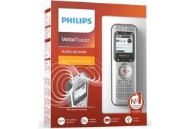 Philips DVT1250 Voice Tracer Digital Voice Recorder with 8GB Internal Memory (Silver/Black)