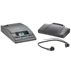 Philips LFH720T Transcription Kit 155 Machine/Power Supply/234 Headset and 210 Foot Control Image
