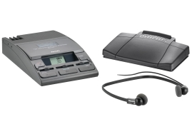 Philips LFH720T Transcription Kit 155 Machine/Power Supply/234 Headset and 210 Foot Control