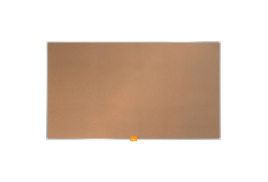 Nobo Widescreen (32 inch) Noticeboard with Self Healing Cork Surface and Slim Frame