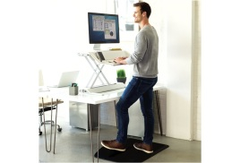 Fellowes ActiveFusion Sit-Stand Floor Mat (Black)