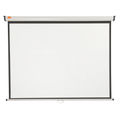 Nobo Wall Mounted 4:3 Projection Screen 1500x1138mm (Black-Bordered) for DLP LCD Projector Image