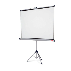 Nobo Professional (1500x1000mm) Tripod Widescreen Projection Screen for Digital Projectors or Overhead Projectors Image