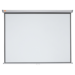 Nobo Wall Mounted 4:3 Projection Screen 2000x1513mm (Black-Bordered) for DLP LCD Projector Image
