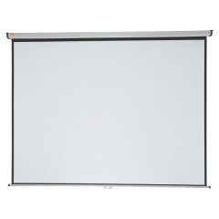 Nobo Wall Mounted 4:3 Projection Screen 2400x1813mm (Black-Bordered) for DLP LCD Projector Image