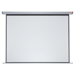 Nobo (2400 x 1800mm) Electric Wall Projection Screen (Matte White) Image