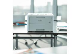 Brother HL-L3230CDW (A4) Colour LED Wireless Printer 256MB 1 Line LCD 18ppm A Grade - Refurbished Machine