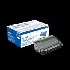 Brother TN-3480 (Yield: 8,000 Pages) Black Toner Cartridge Image
