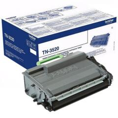 Brother TN-3520 (Yield: 20,000 Pages) Black Toner Cartridge Image
