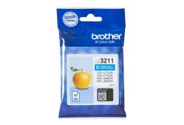 Brother LC3211C (Yield: 200 Pages) Cyan Ink Cartridge