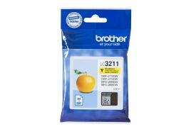 Brother LC3211Y (Yield: 200 Pages) Yellow Ink Cartridge
