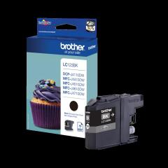 Brother LC-123BK Ink cartridge black, 600 pages, 11ml Image