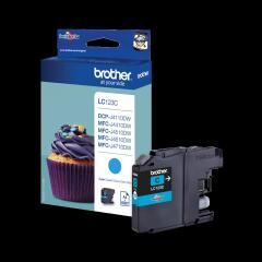 Brother LC-123C Ink cartridge cyan, 600 pages, 6ml Image