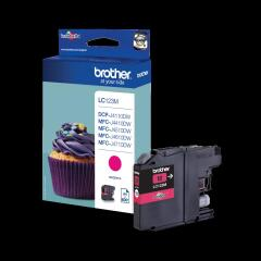Brother LC-123M Ink cartridge magenta, 600 pages, 6ml Image