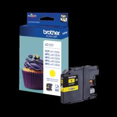 Brother LC-123Y Ink cartridge yellow, 600 pages, 6ml Image