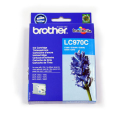 Brother LC970C Cyan (Yield: 300 Pages) Ink Cartridge Image