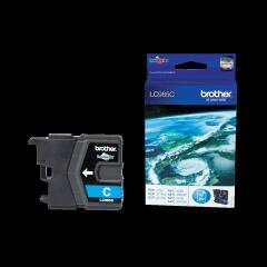 Brother LC985C (Yield: 260 Pages) Cyan Ink Cartridge Image