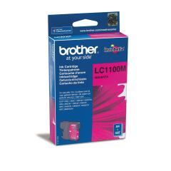 Brother LC1100M Magenta (Yield: 325 Pages) Ink Cartridge Image
