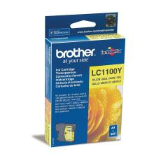 Brother LC1100Y Yellow (Yield: 325 Pages) Ink Cartridge Image