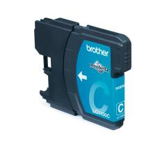 Brother LC1100HY-C (Yield: 750 Pages) High Capacity Cyan Ink Cartridge Image