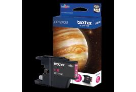 Brother LC1240M (Yield: 600 Pages) Magenta Ink Cartridge