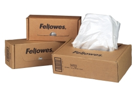 Fellowes Waste Bags Capacity 23-28 Litre (1 x Box of 100 Bags) for Fellowes SB-87Cs Series