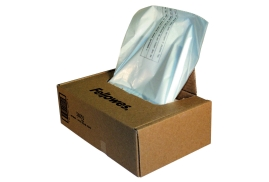 Fellowes Waste Bags Capacity 165 Litre (1 x Box of 50 Bags) for C-380/C-480 Series Shredders