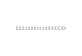 GBC (A4) 6mm Binding Wire Elements 34 Loop 55 Sheet Capacity (Silver) Pack of 100