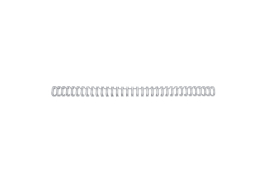GBC (A4) 9.5mm Binding Wire Elements 34 Loop 85 Sheet Capacity (Silver) Pack of 100