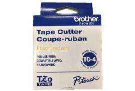 Brother TC4 Replacement Tape Cutter Blades for P-touch PT-D200/D210/E100/H100 Label Printers