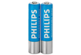 Philips LFH9154 Rechargeable Batteries for Pocket Memo NiMH AAA 1.2V Ref LFH9154