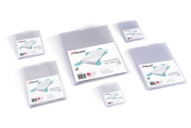 Rexel Nyrex (A4) Card Holder (Clear) Pack of 25 Card Holders
