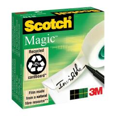 Scotch Magic 810 (19mm x 66m) Invisible Tape Matte-finish (Clear) Image