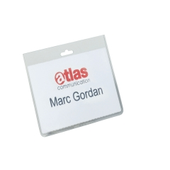 DURABLE Security Name Badges without Clip- Pack of 20 Image