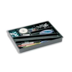 DURABLE Catch-All Plastic Drawer Insert (Black) Image