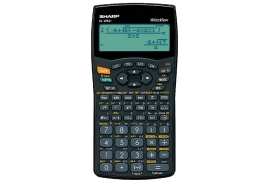 Sharp WriteView EL-W531 Calculator Scientific Battery-power 4-line 335 Functions 2-key Rollover