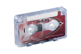 Philips (30 Minutes Total) Mini Cassette (1 x Pack of 10)