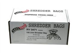 Robinson Young Safewrap Shredder Bags 100 Litre [Pack of 50]