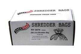 Robinson Young Safewrap Shredder Bags 250 Litre [Pack of 50]