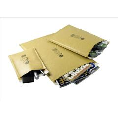 Jiffy Airkraft (Size 8) Bubble Bag Envelopes 440x620mm Gold (1 x Pack of 50 Envelopes) Image