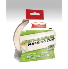 Henkel UniBond (25mm x 25m) Easy On/Off Masking Tape Image
