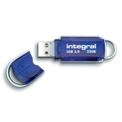 Integral Courier (32GB) USB 3.0 Flash Drive Image