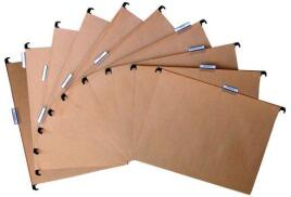Pierre Henry (A4) Suspension Files (Natural) Pack of 10