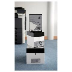 5 Star Elite (A4) Copier Navigator 90g/m2 Ream-Wrapped (White) Box of 5 x 500 Sheets Image