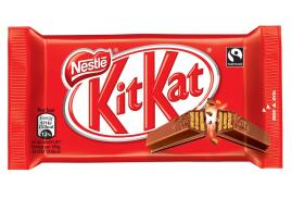 Nestle Chunky Milk Chocolate KitKat Bars (Pack of 4 Bars)